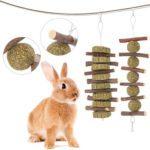 juguetes y accesorios para conejos